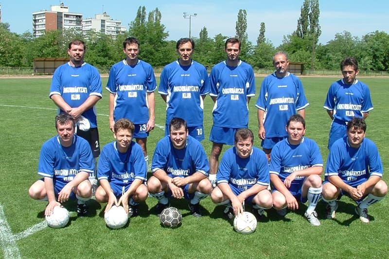 ETK Önkormányzati Klub fociválogatott