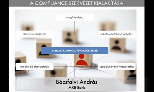 Hatékony megfelelést támogató szervezet kialakítása és működtetése, a megfelelési tanácsadó tevékenysége a 339/2019 (XII.23) Kormányrendelet szerint.